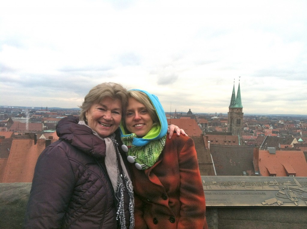 Photo Op of the Nürnberg Skyline