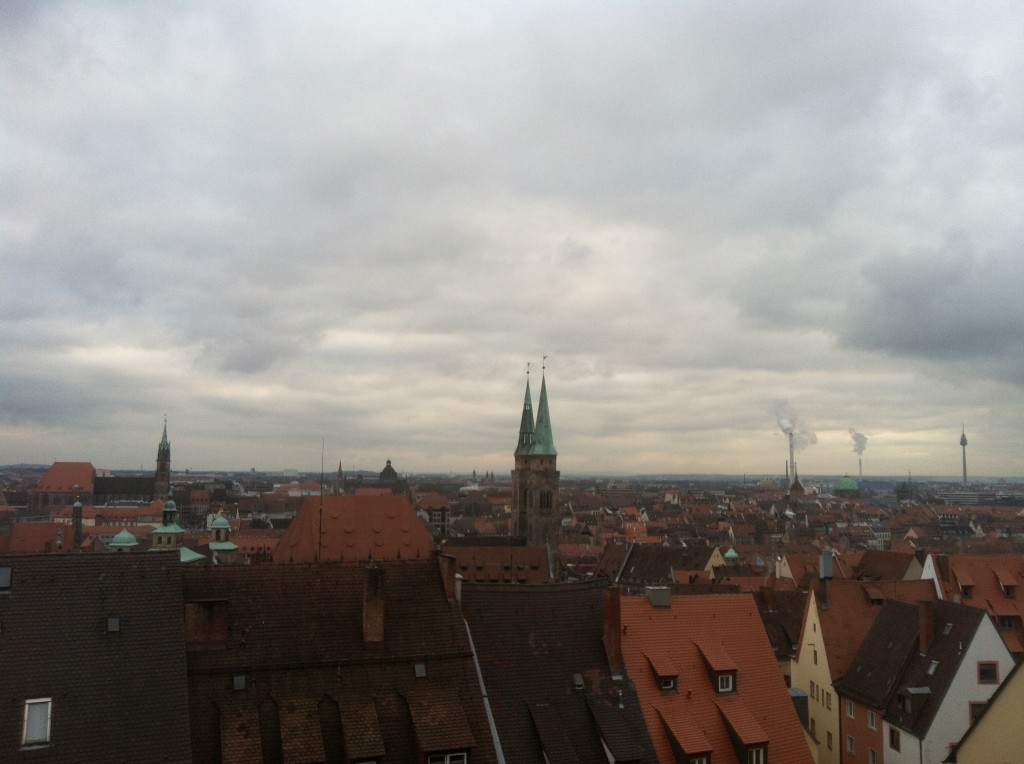 Nuremberg from the Kaiserburg