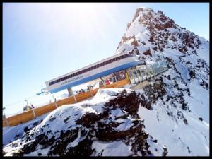 Top of Sölden Austria