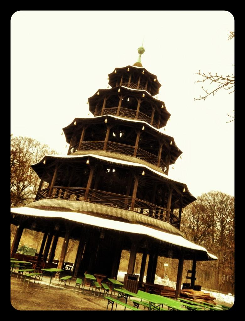 Pagoda English Garden, Munich