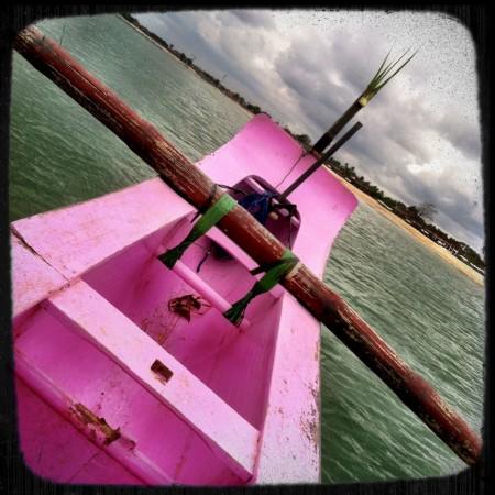 Pink Fish Boat Bali Surfing