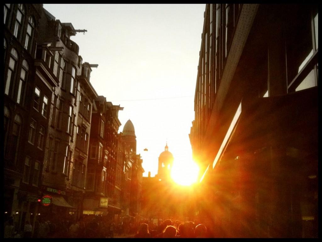 Amsterdam City Street