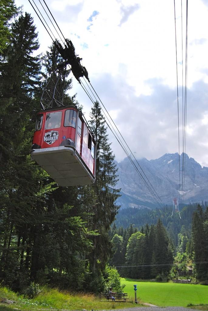 Zugspitze Chairlift