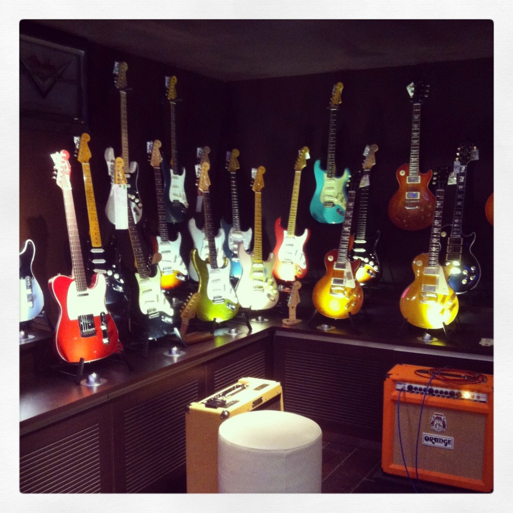 Special Guitar Room
