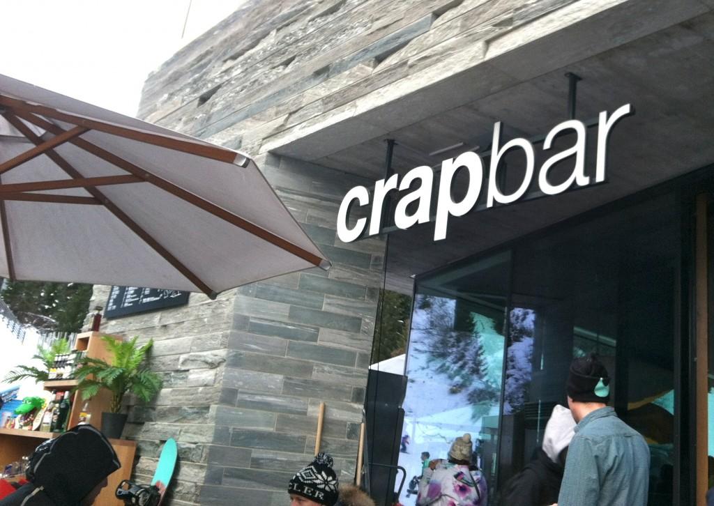 Crap Bar at Laax