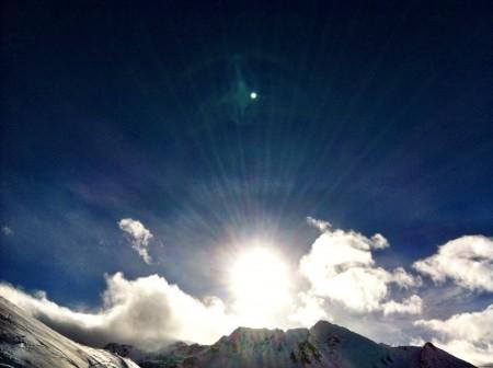 Sun Over Obergurgl