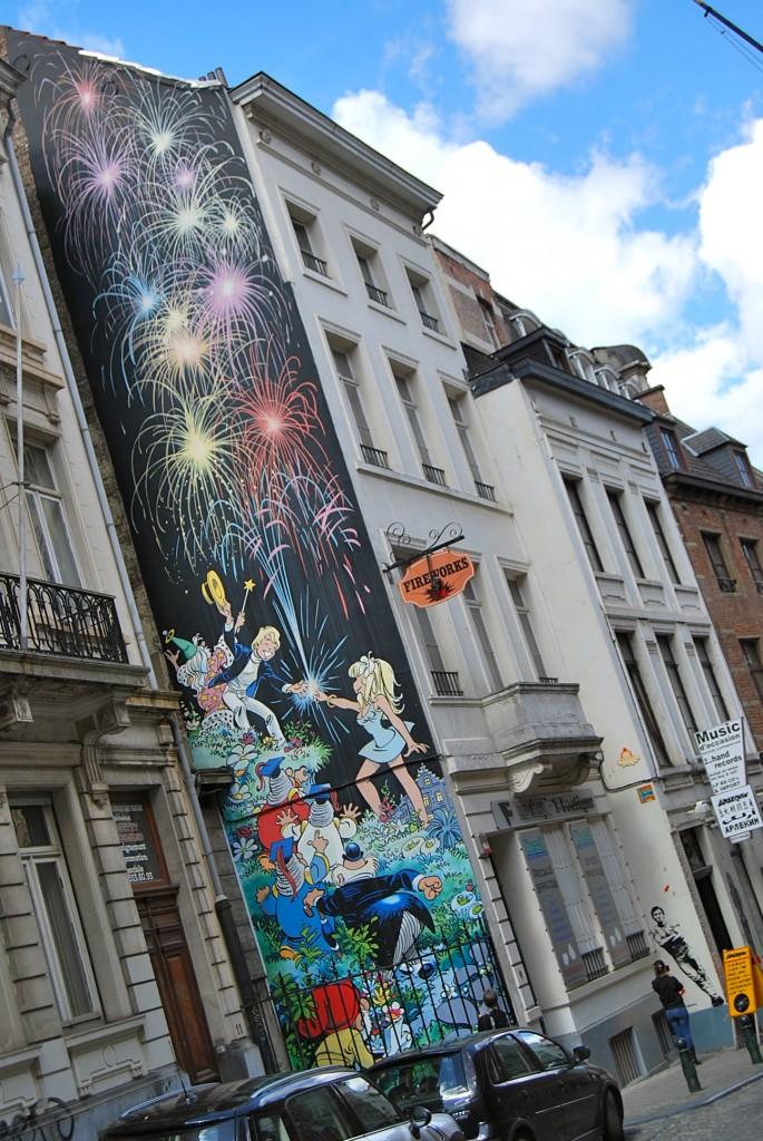 Mural Brussels