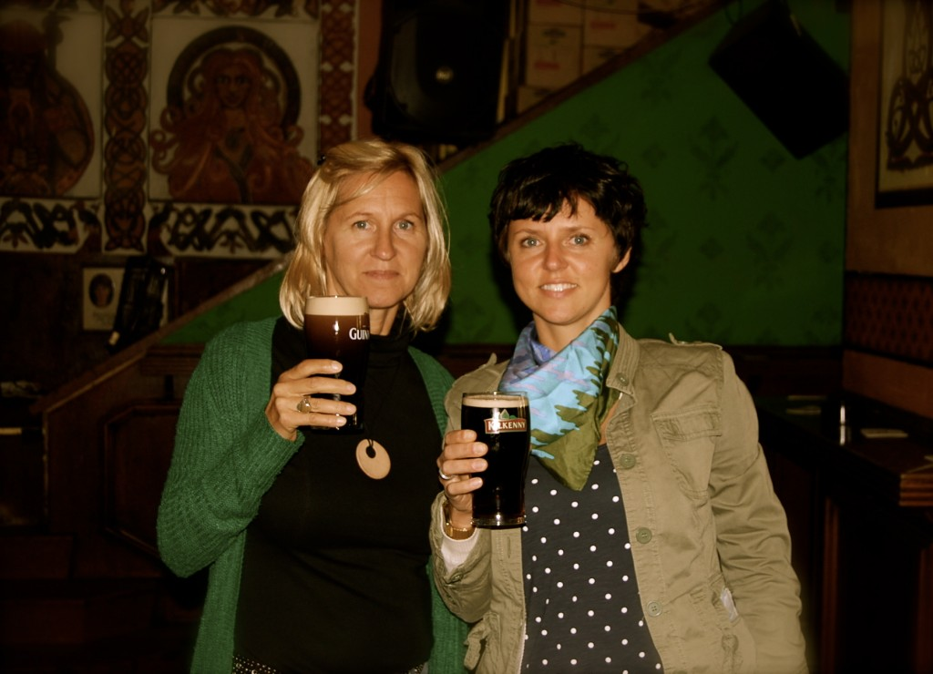 Me and Mom Guiness
