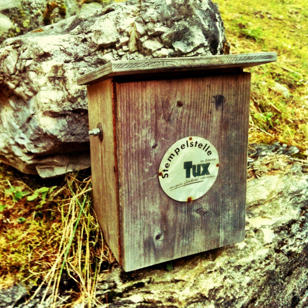 Stamp Box in Nature