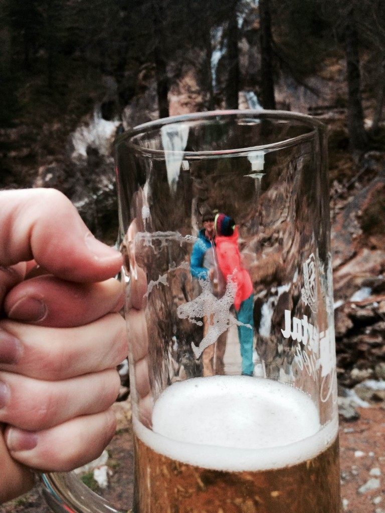 Beer in the Alps