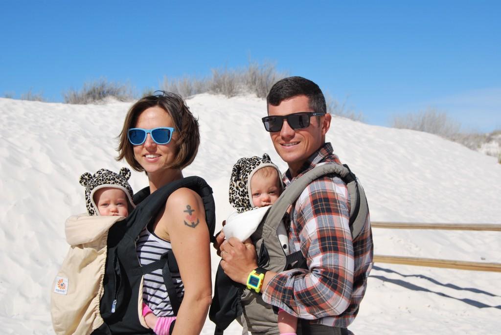 Family at White Sands