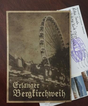 Retro German Postcard